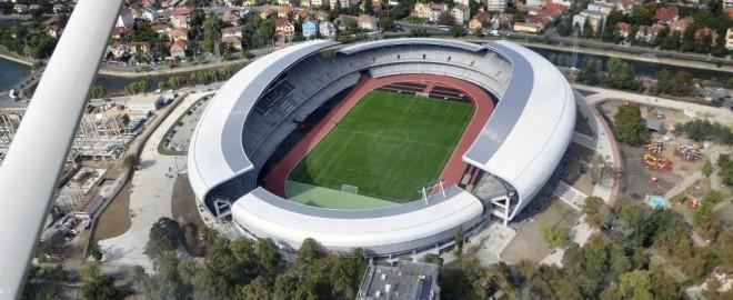 Din avion-Cluj Arena